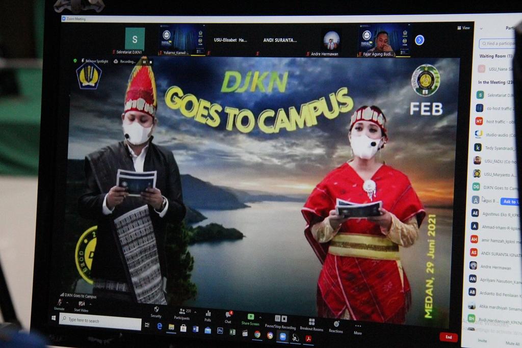DJKN Goes to Campus USU, #UangKita dan Kekayaan Negara, Bangkitkan Ekonomi Rakyat!