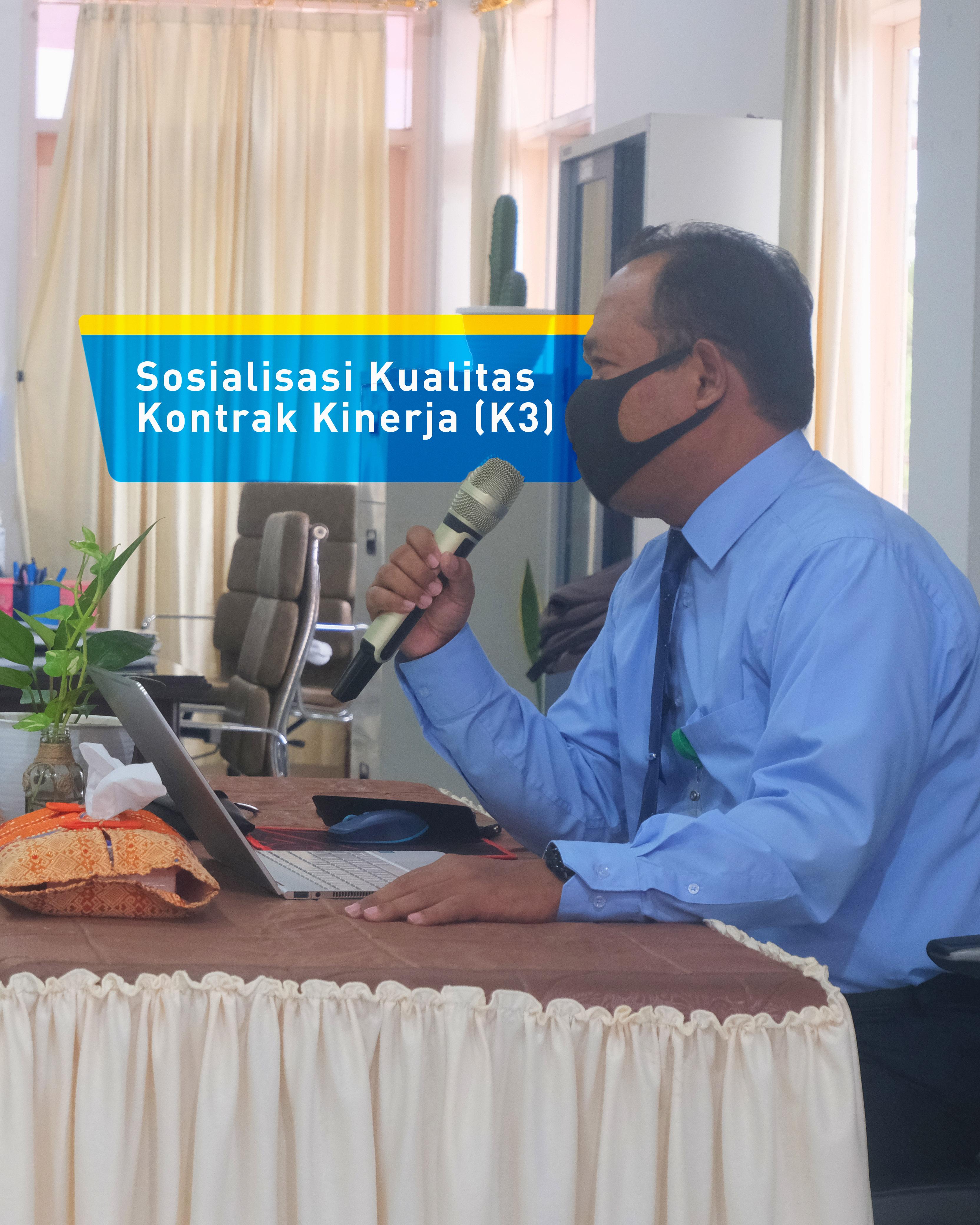 KPKNL Parepare Selenggarakan Sosialisasi Kualitas Kontrak Kinerja (K3)