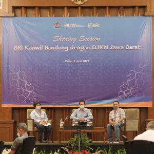 KPKNL Cirebon Hadiri Sharing Session BRI, Kakanwil DJKN Jawa Barat Tekankan Mitigasi Resiko Pelaksanaan Lelang