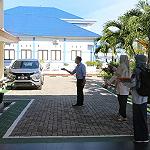 KPKNL Pangkalpinang Lakukan Survei Lapangan Atas SBSK pada Kanwil BPN Provinsi Kepulauan Bangka Belitung