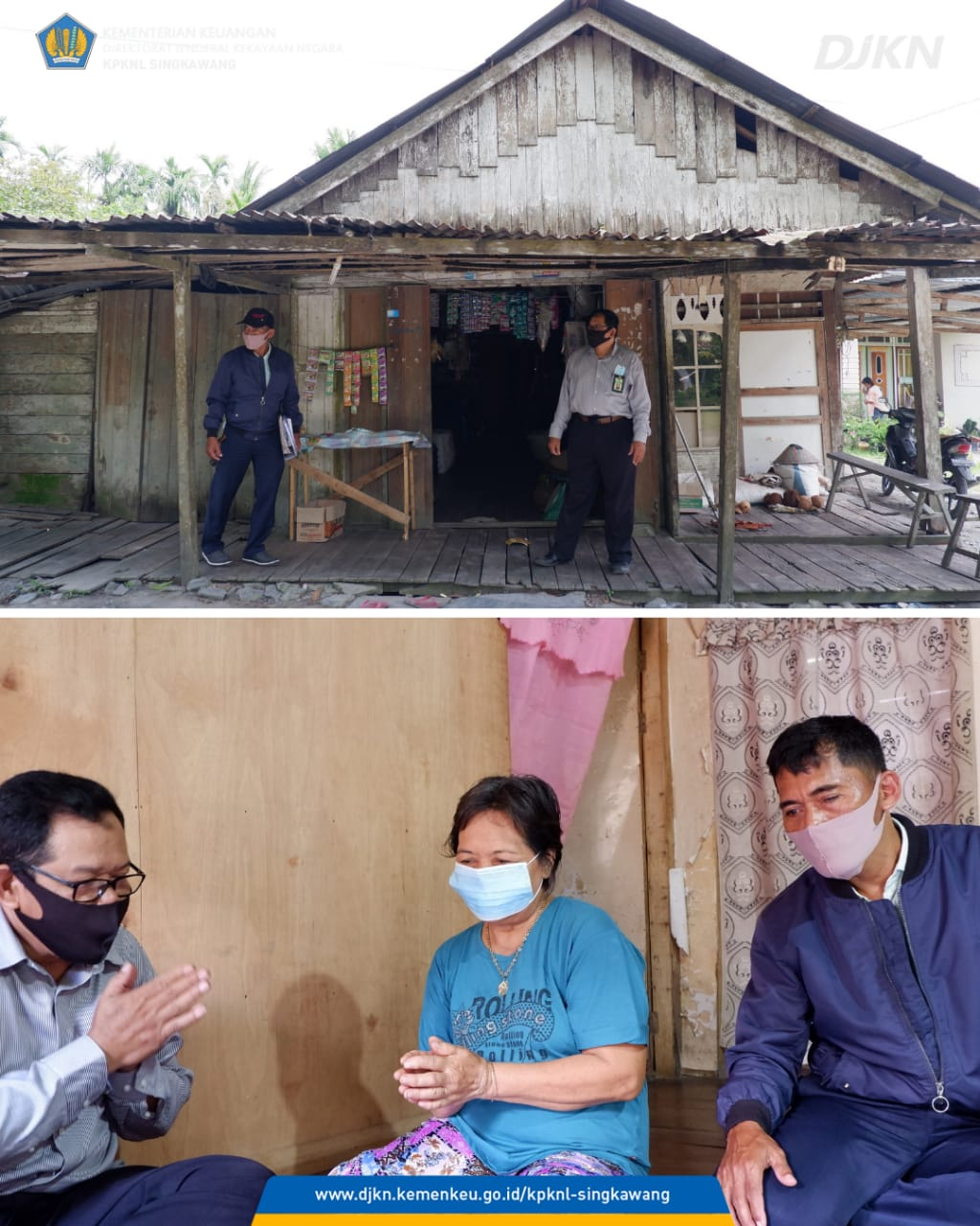 Sampaikan Program Keringanan Utang, KPKNL Singkawang Terjun Langsung ke Pedalaman Kalimantan Barat