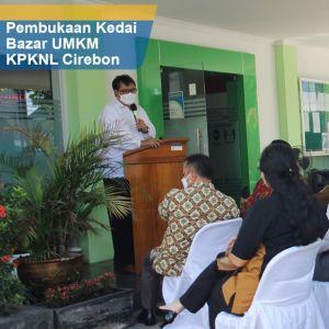 Kepala Kanwil DJKN Jawa Barat Membuka Kegiatan Kedai Lelang UMKM 2021