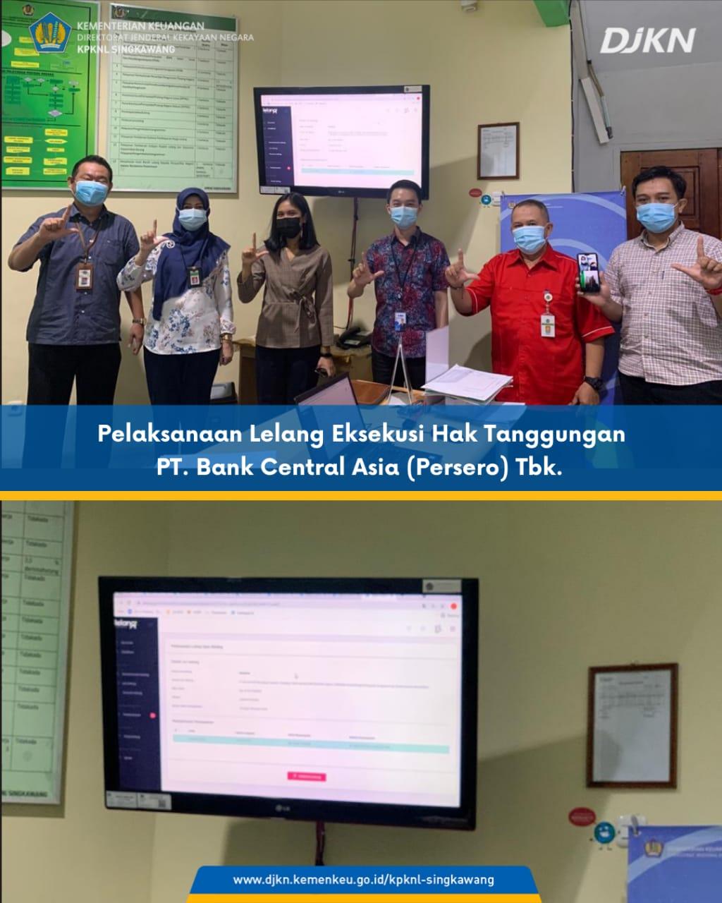 KPKNL Singkawang Capai Target Lelang 100%