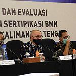 Monitoring dan Evaluasi Bantu Tuntaskan Program Percepatan Sertipikasi BMN 2021