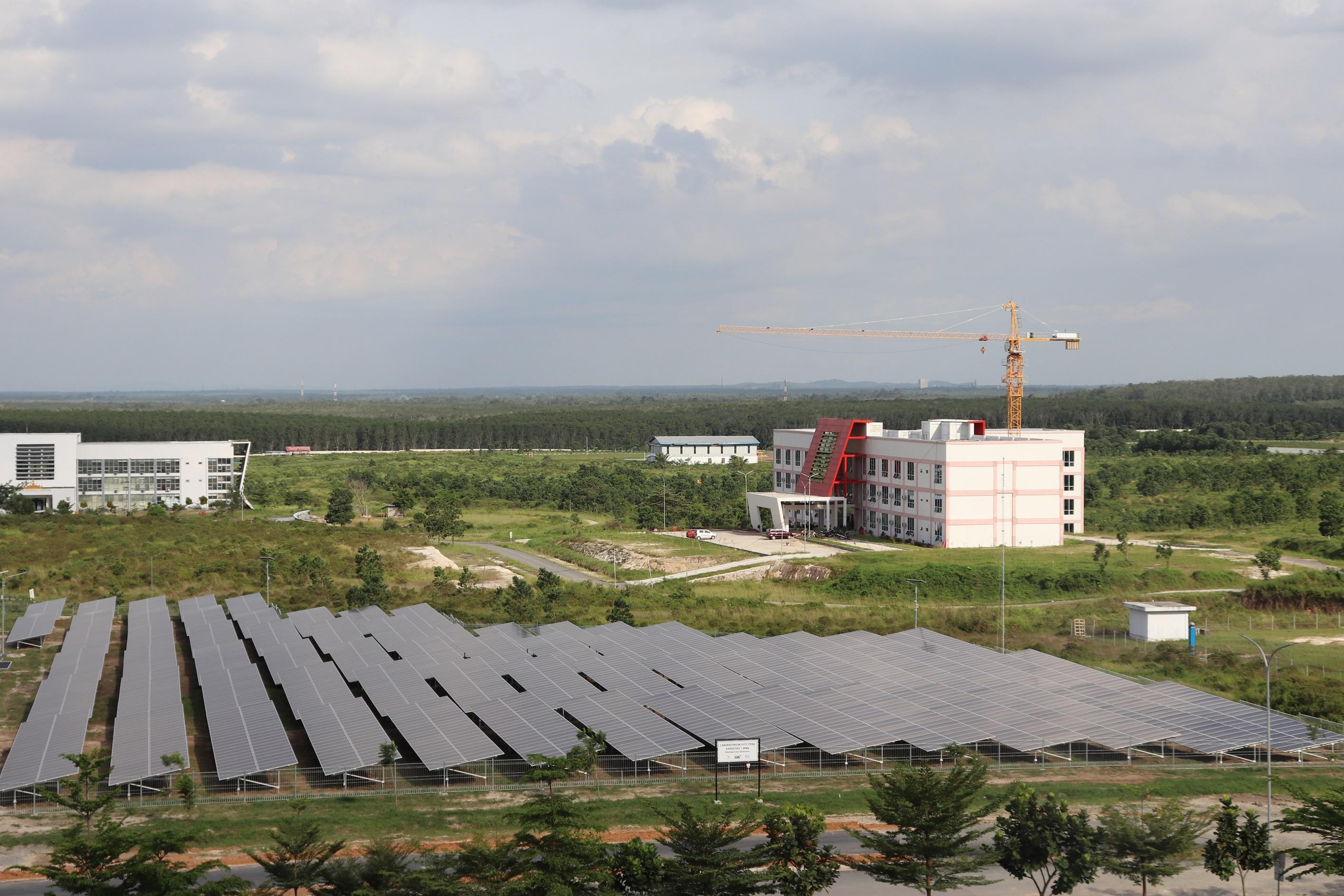 Institut  Teknologi Sumatera  (ITERA), Mempelopori Pemanfaatan BMN Untuk Mendukung Energi Baru dan Terbarukan (EBT)