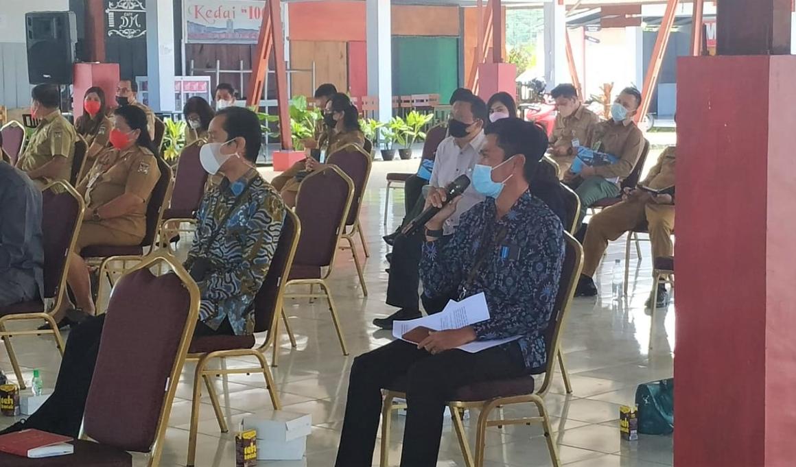KPK dan DJKN Bahas Penertiban Aset Danau Tondano