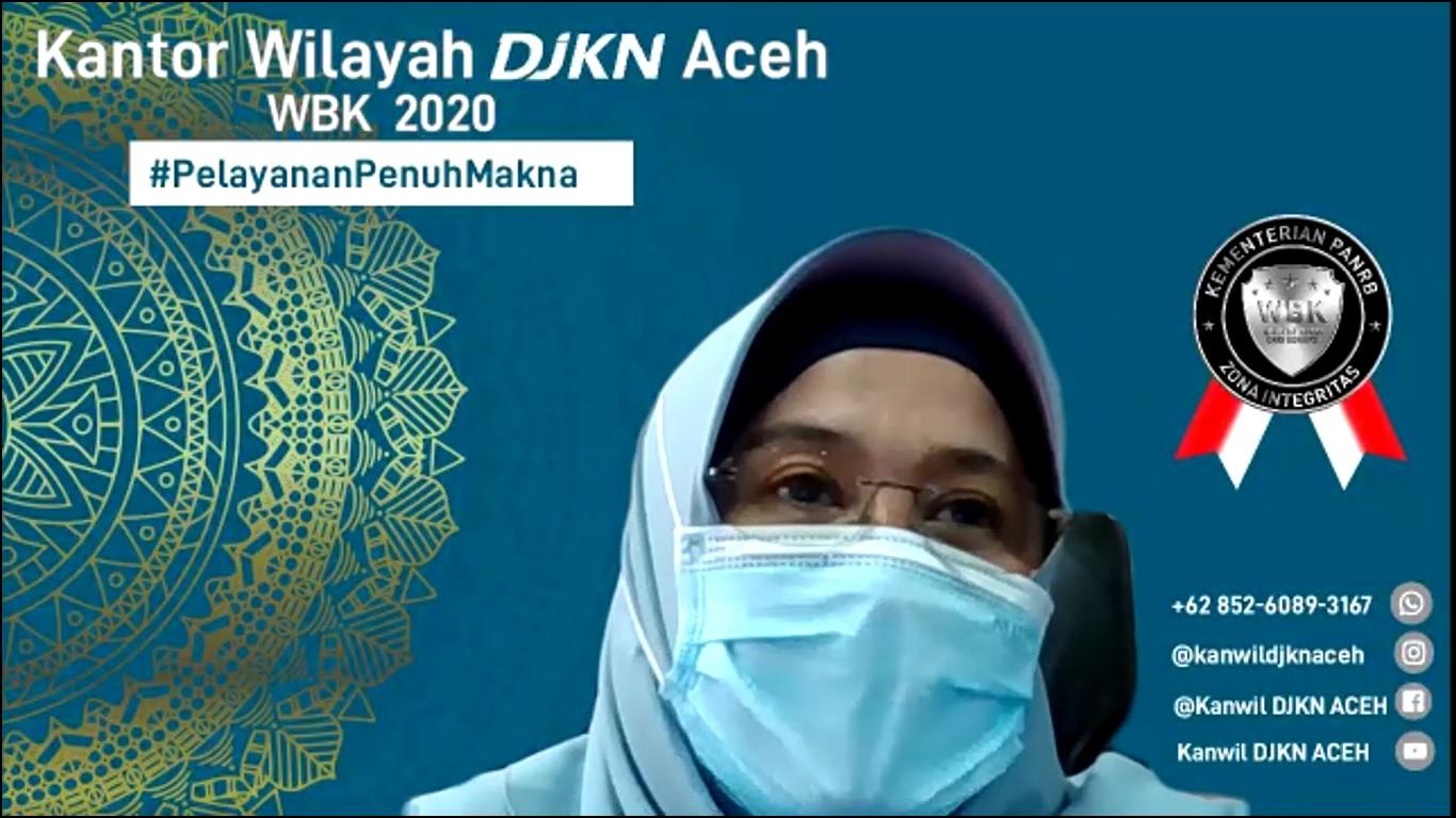 Asistensi Pembangunan ZI-WBK Kanwil DJKN DKI Jakarta oleh Kanwil DJKN Aceh