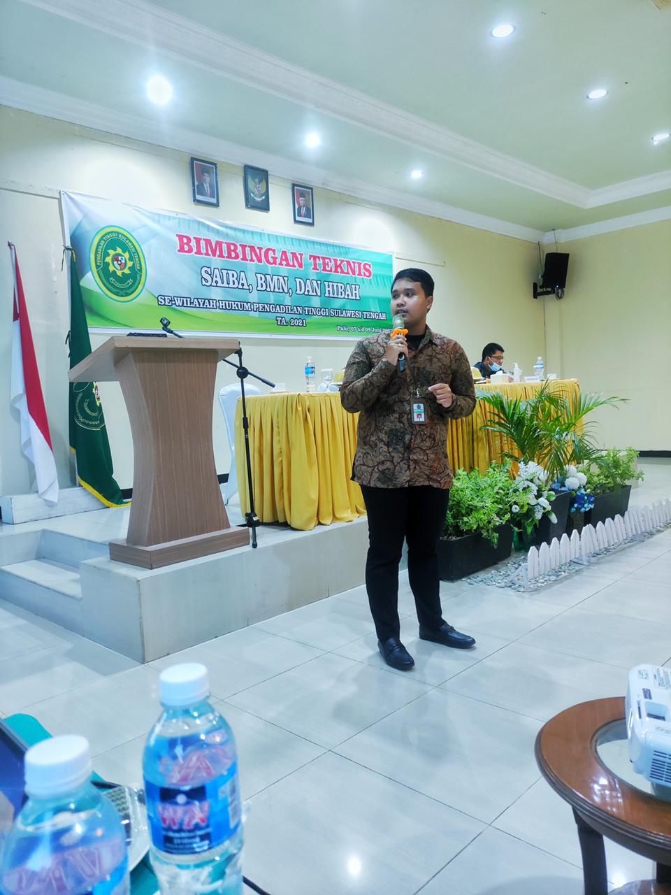 KPKNL Palu Tingkatkan Pemahaman Pengelolaan BMN pada Pengadilan Negeri se-Sulawesi Tengah