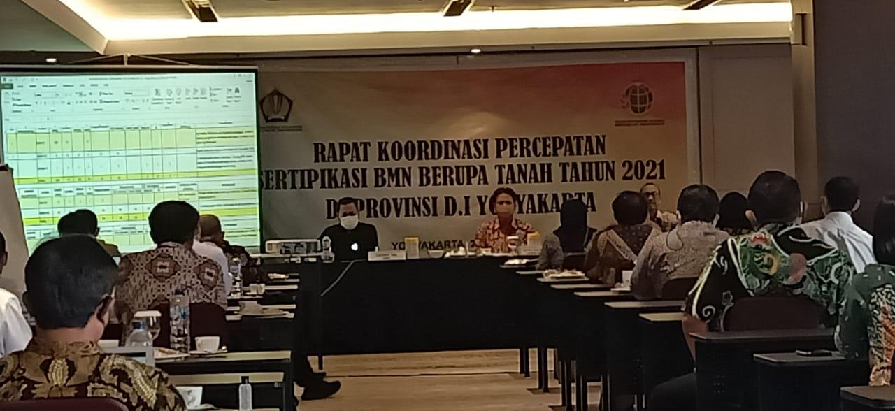 Perkuat Sinergi, Kanwil DJKN Jateng dan DIY Selenggarakan Rakor Sertipikasi BMN Wilayah D.I. Yogyakarta