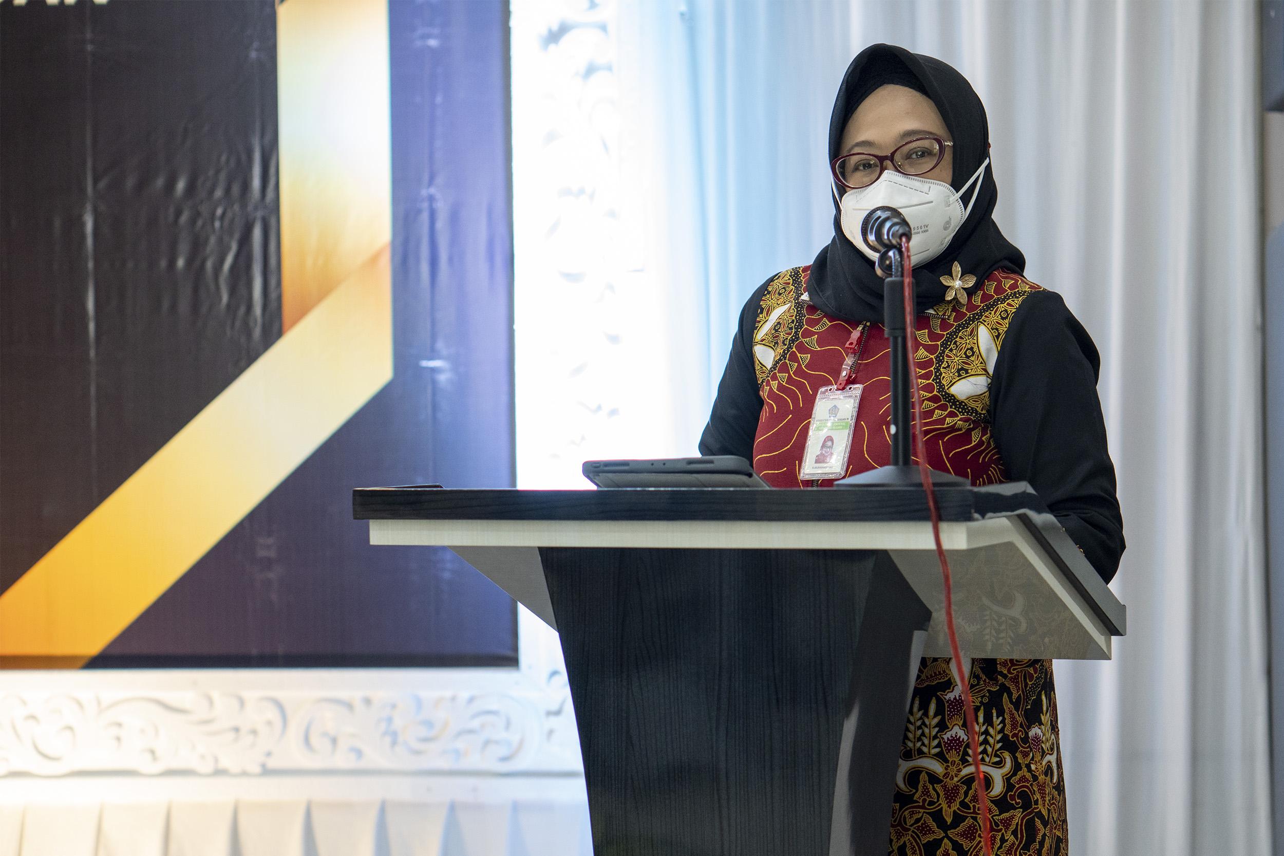 Kusumawardhani Hadiri Acara Sosialisasi Pengelolaan Kekayaan Negara dan Penganugerahan Apresiasi di KPKNL Tarakan