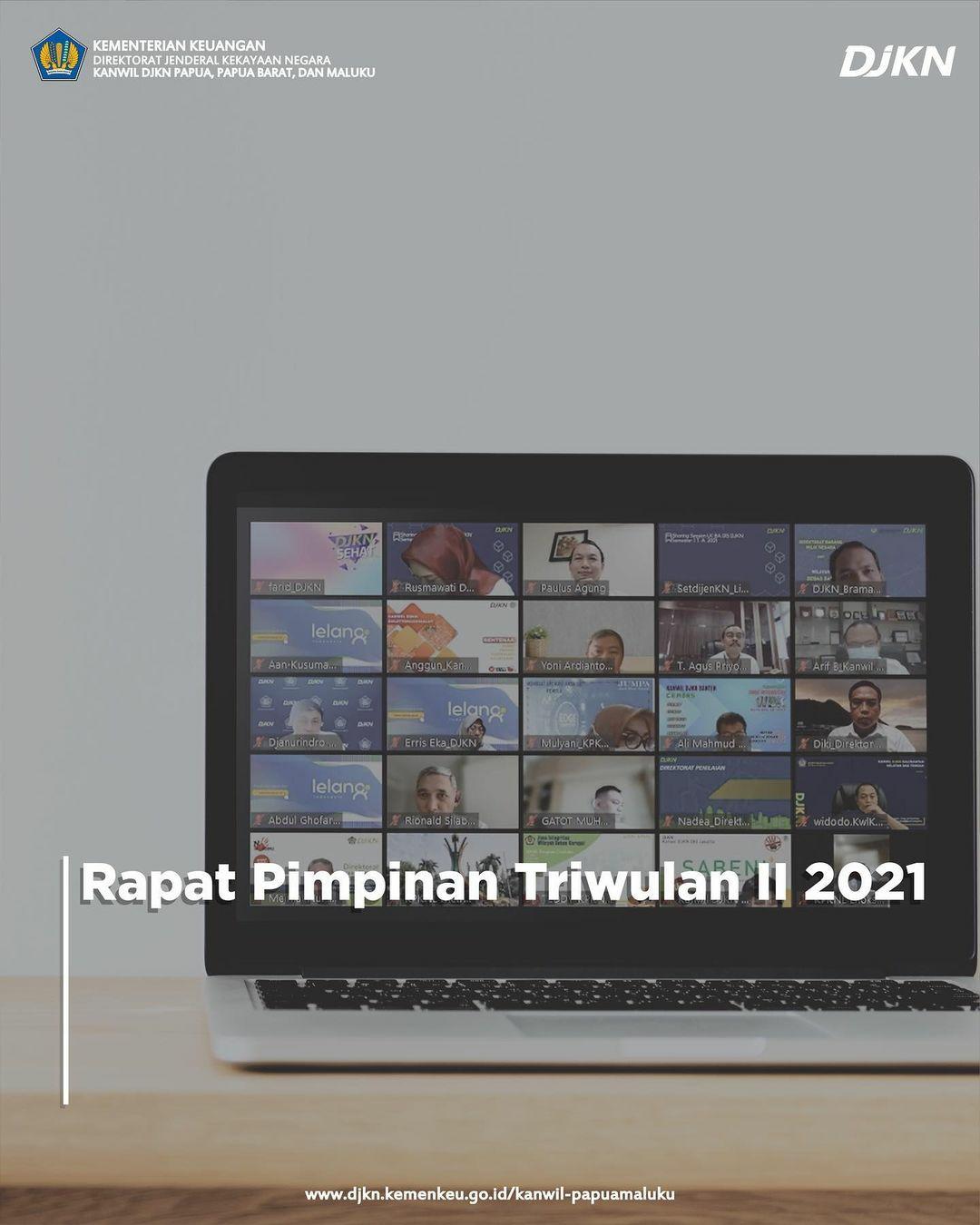 Rapat Pimpinan DJKN Triwulan II 2021
