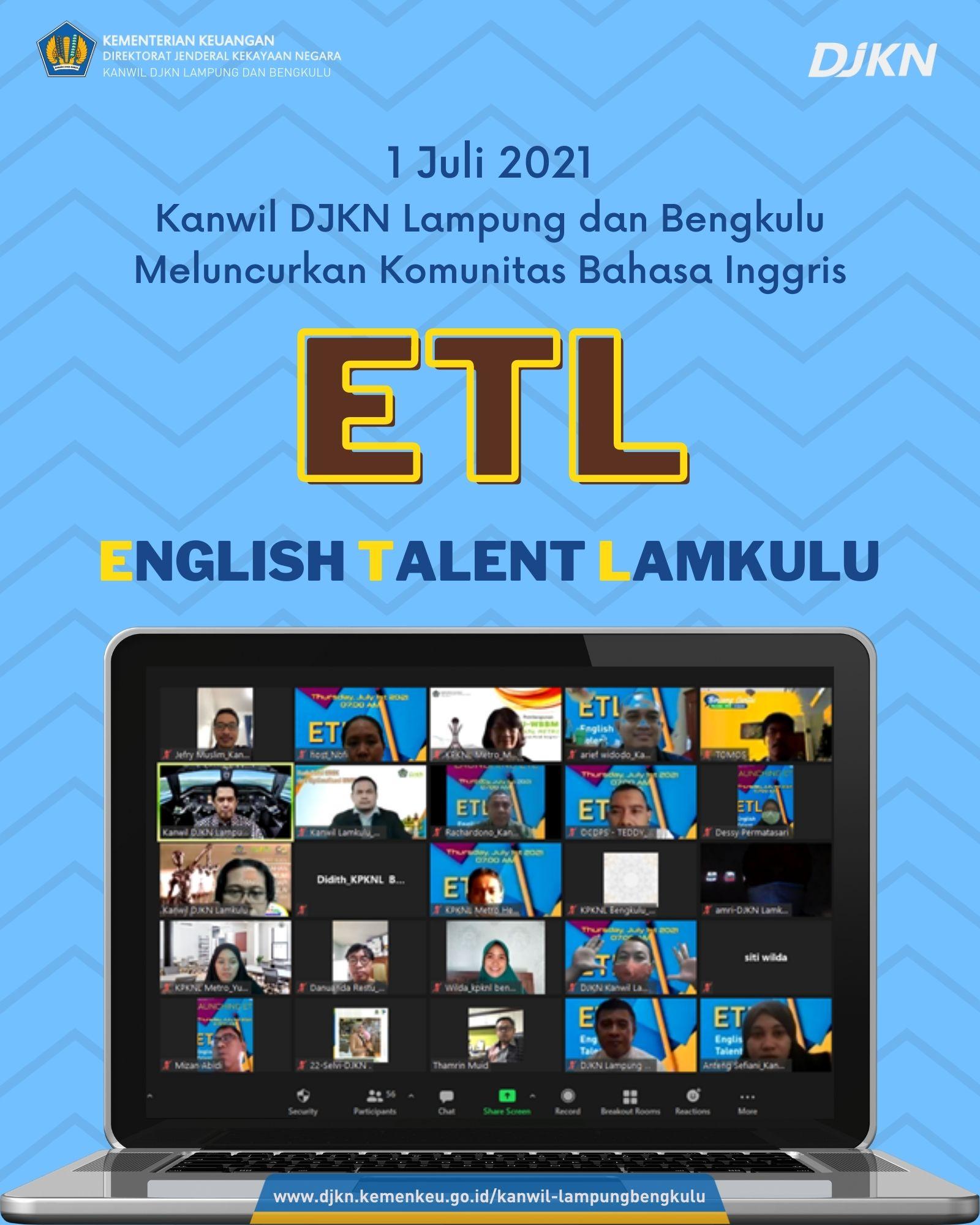 English Talent Lamkulu (ETL)