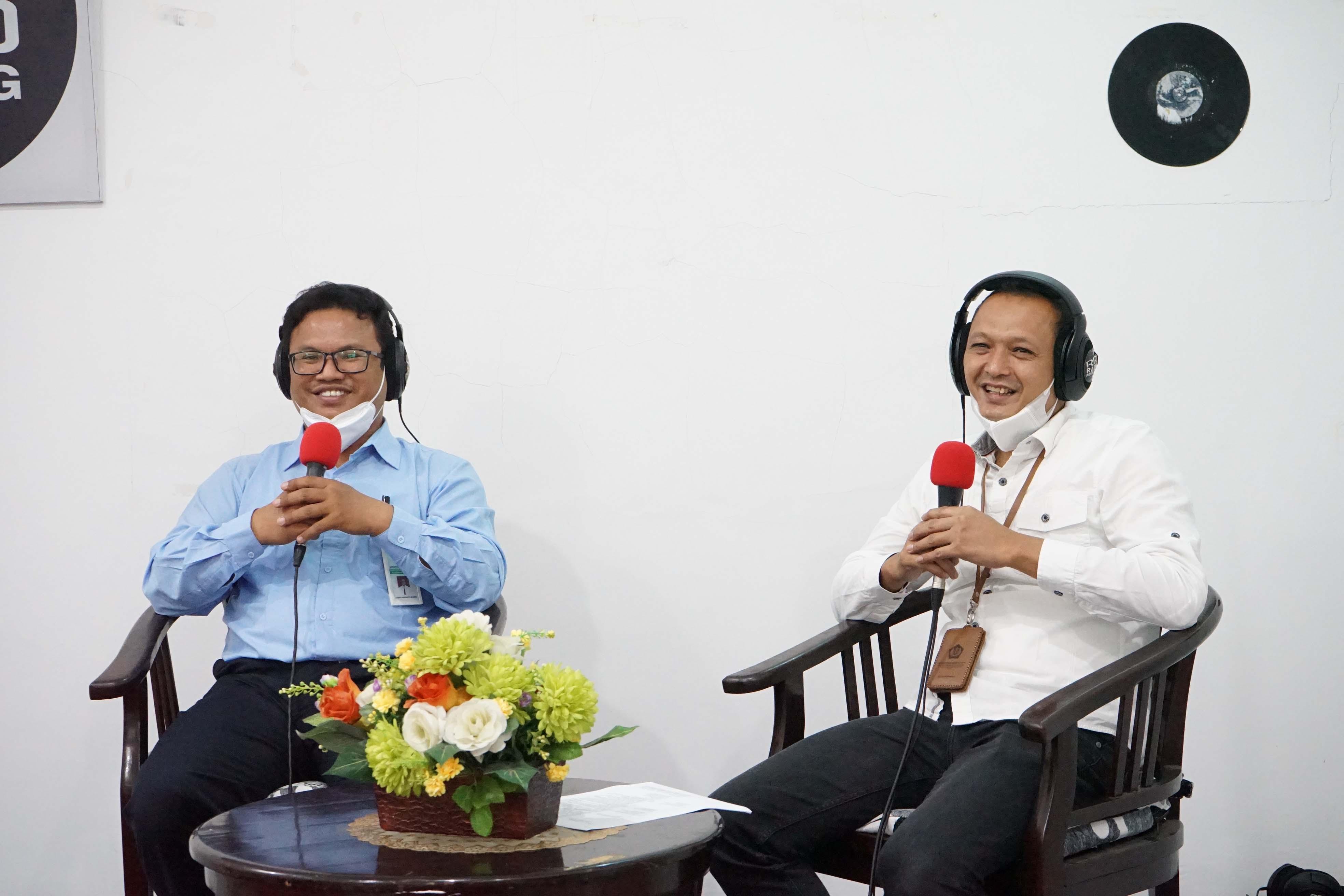 Gandeng RRI Malang, KPKNL Malang Sosialisasikan Kedai Lelang UMKM