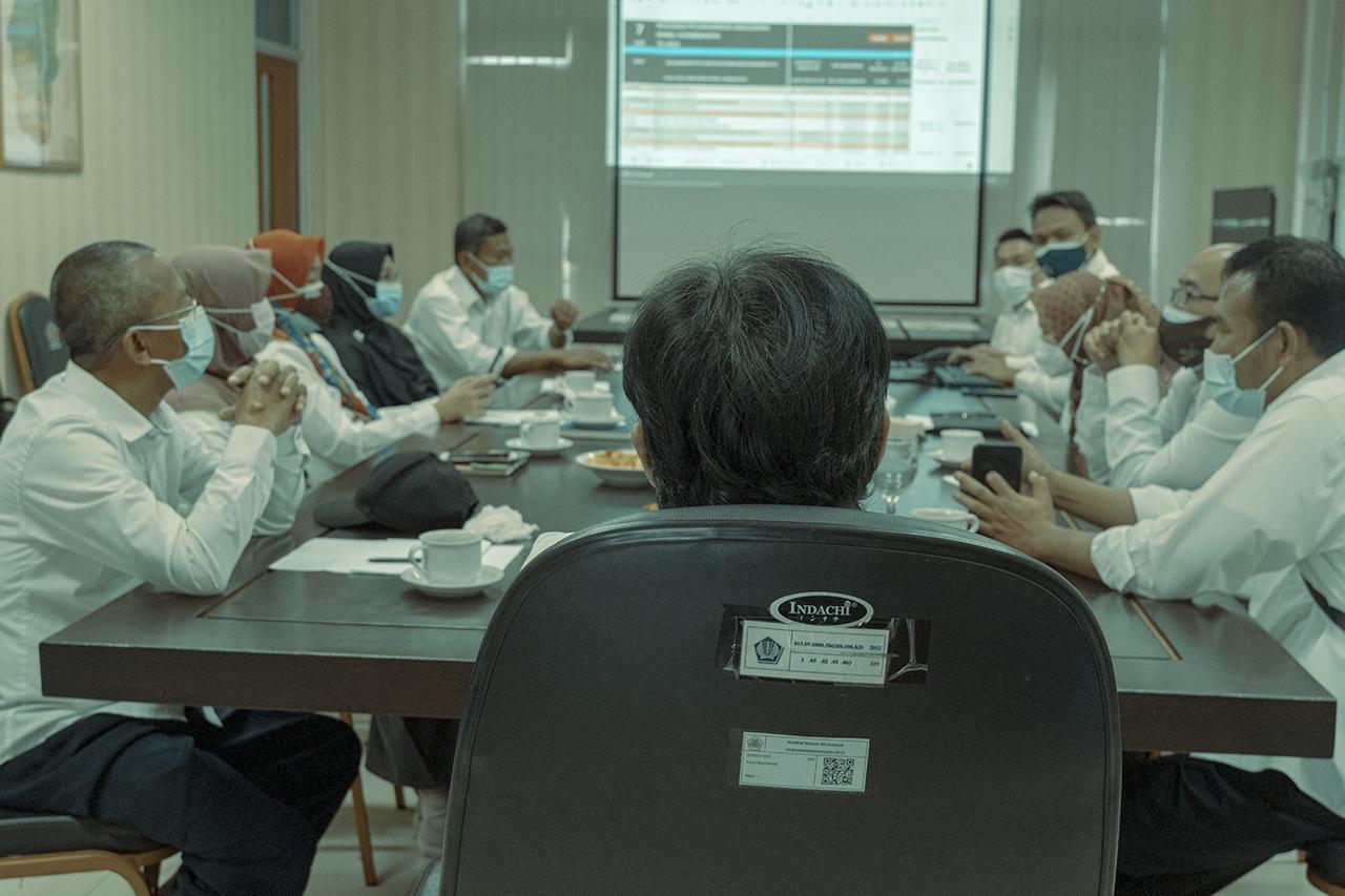 Rapat Pembahasan Refocusing dan Realokasi Belanja 2021 Tahap IV