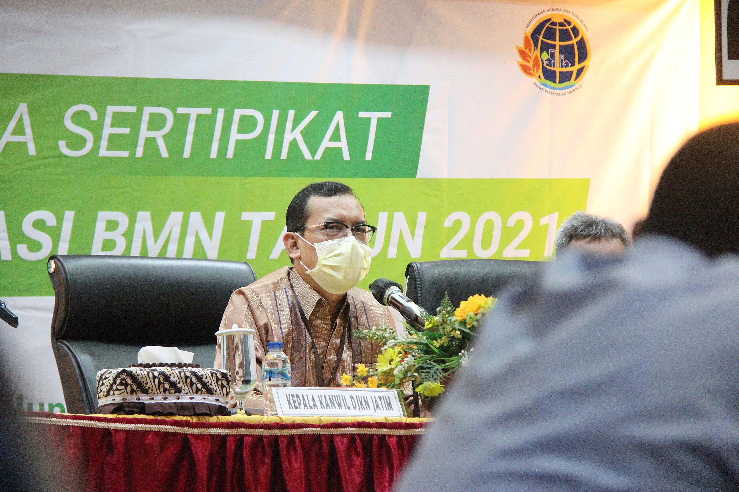 Arahan Kepala Kantor Wilayah Direktorat Jenderal Kekayaan Negara Jawa Timur