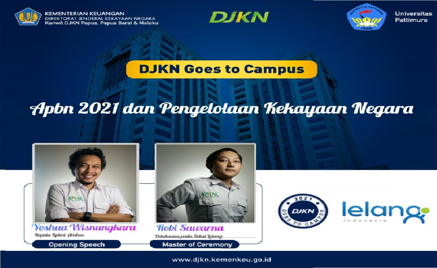 Kenalkan APBN dan Kekayaan Negara, KPKNL Ambon Goes to Campus Univ. Pattimura