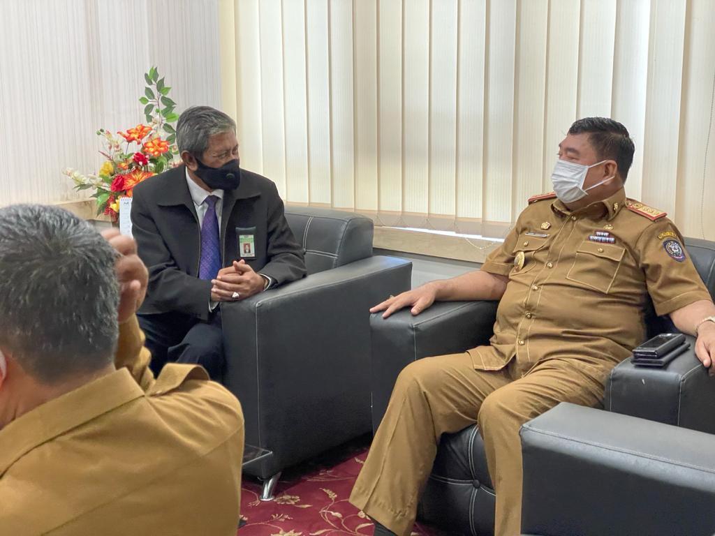 Kunjungan Kepala Kanwil DJKN Sulseltrabar, Perkuat Koordinasi Pelaksanaan Tugas dengan Sekretaris Daerah Propinsi Sulsel