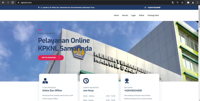 Pelayanan KPKNL Samarinda Dialihkan Secara Online