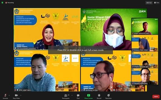 Indepth Interview dan Virtual Office Tour, Tahap Awal Penilaian KWT 2021