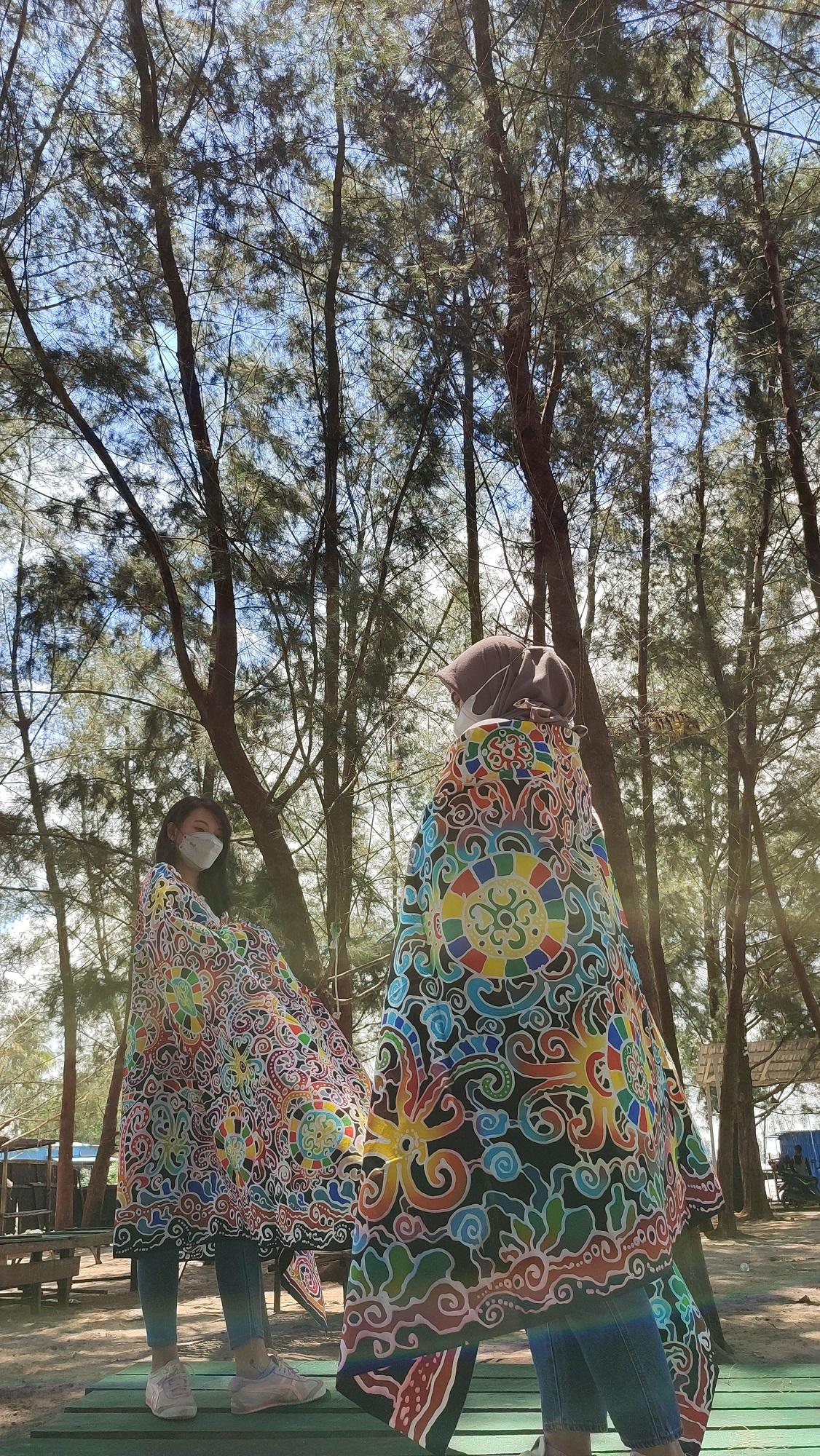 KPKNL Tarakan Lelang Batik Khas Kaltara, Inilah Inspirasi di Balik Motifnya
