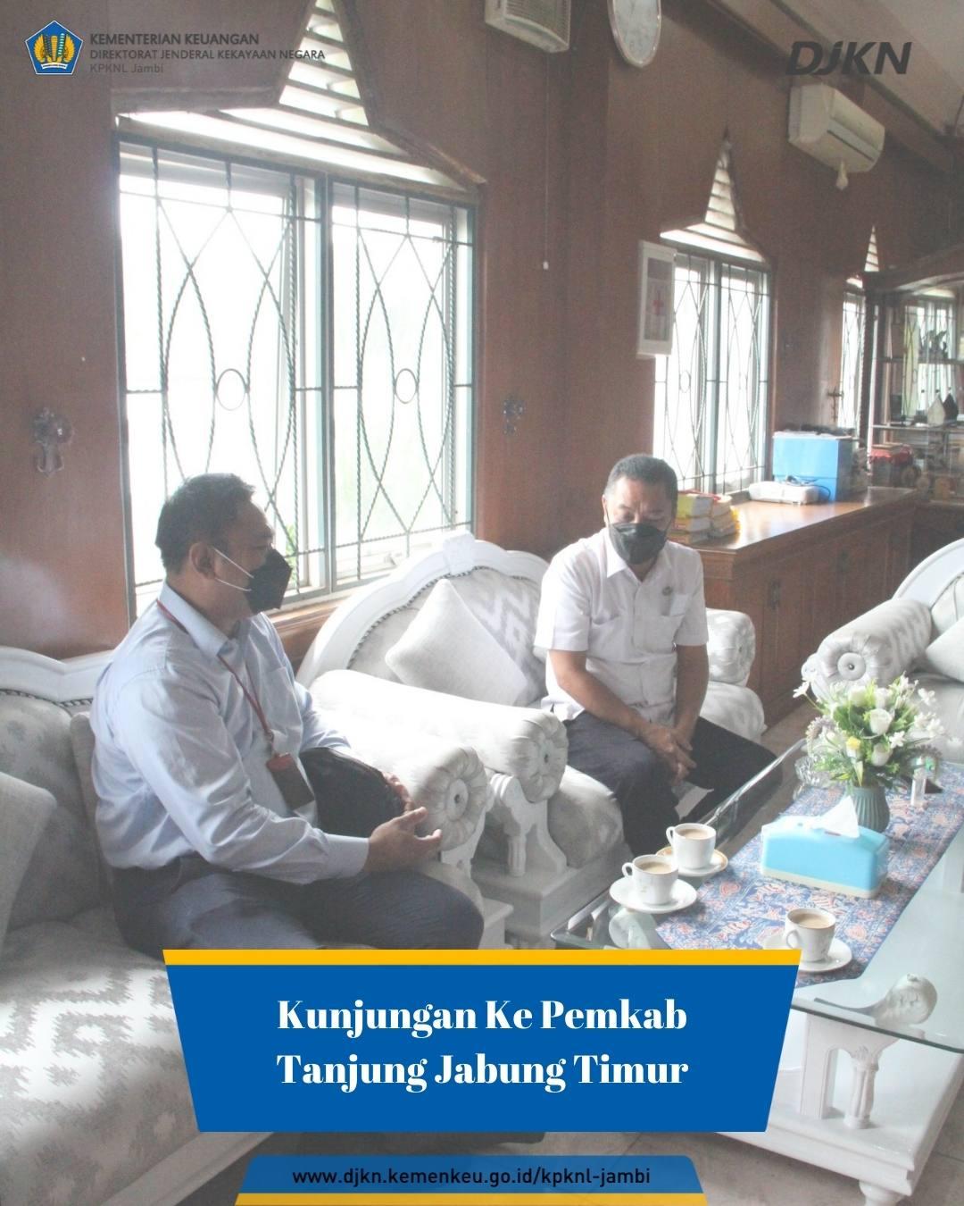 Kunjungan Kepala KPKNL Jambi