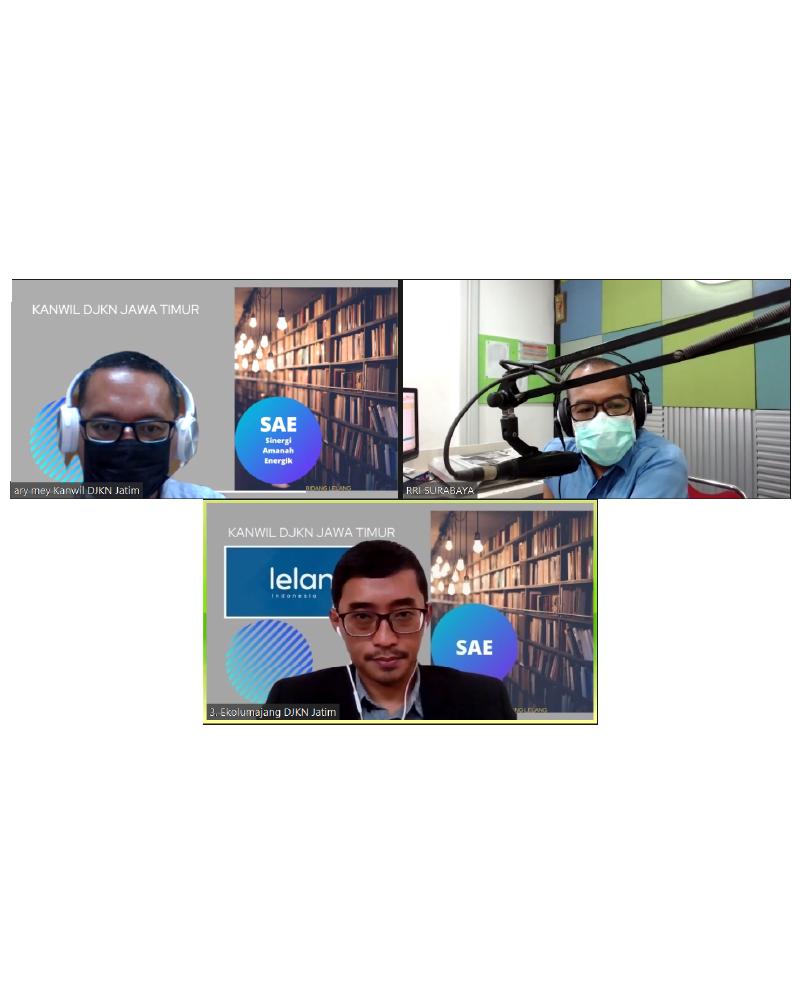 Dialog Interaktif bersama RRI Surabaya Dalam Pemberdayaan UMKM di Masa Pandemi Covid-19 Melalui Kedai Lelang UMKM Tahun 2021