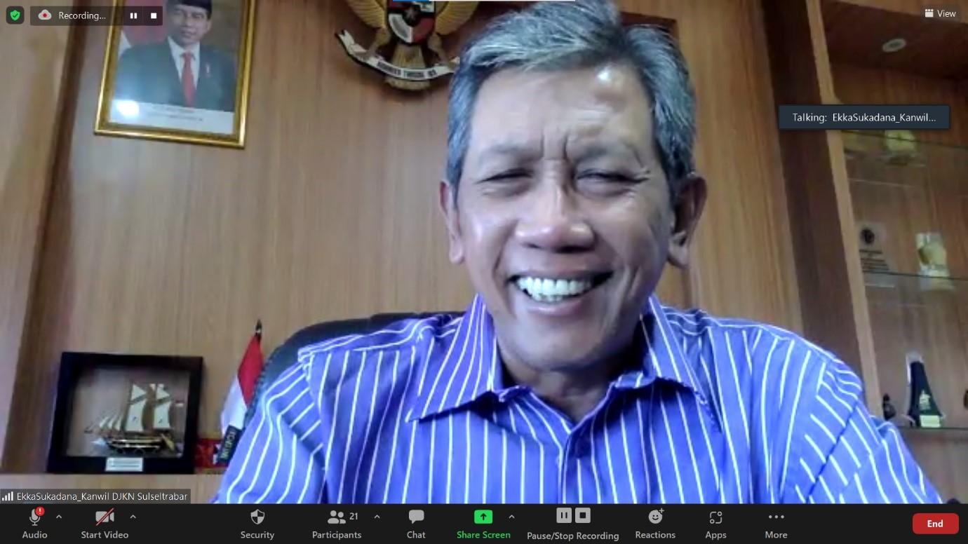 Monev  Capaian  Kinerja  Piutang  Negara:  KPKNL Lingkup Sulseltrabar Optimis Capai Target Crash Program Tahap Dua