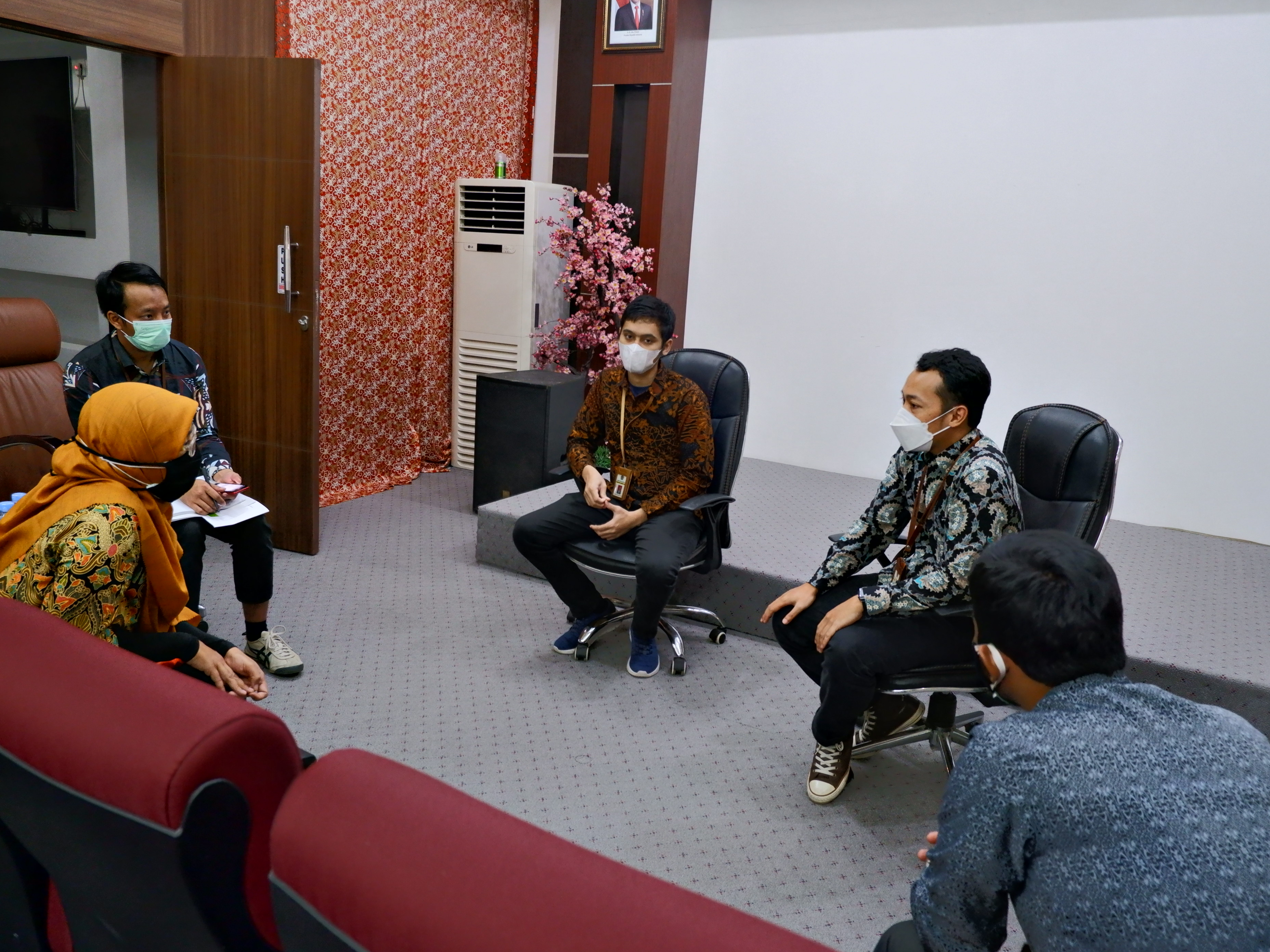 Optimalkan Tingkat Kesesuaian Penggunaan BMN Dengan SBSK, KPKNL Bontang Berkunjung ke KPP Pratama Bontang