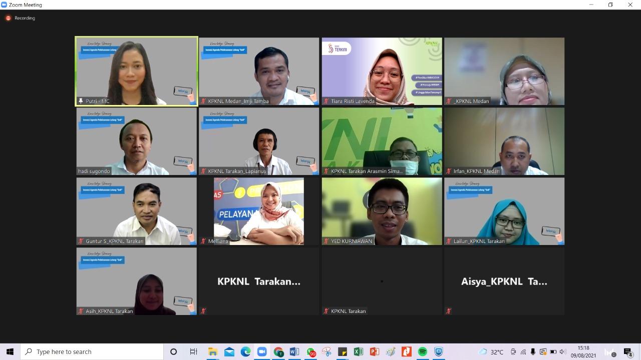 KPKNL Tarakan Ajak KPKNL Medan Kurangi Risiko Lelang Batal dengan SnR