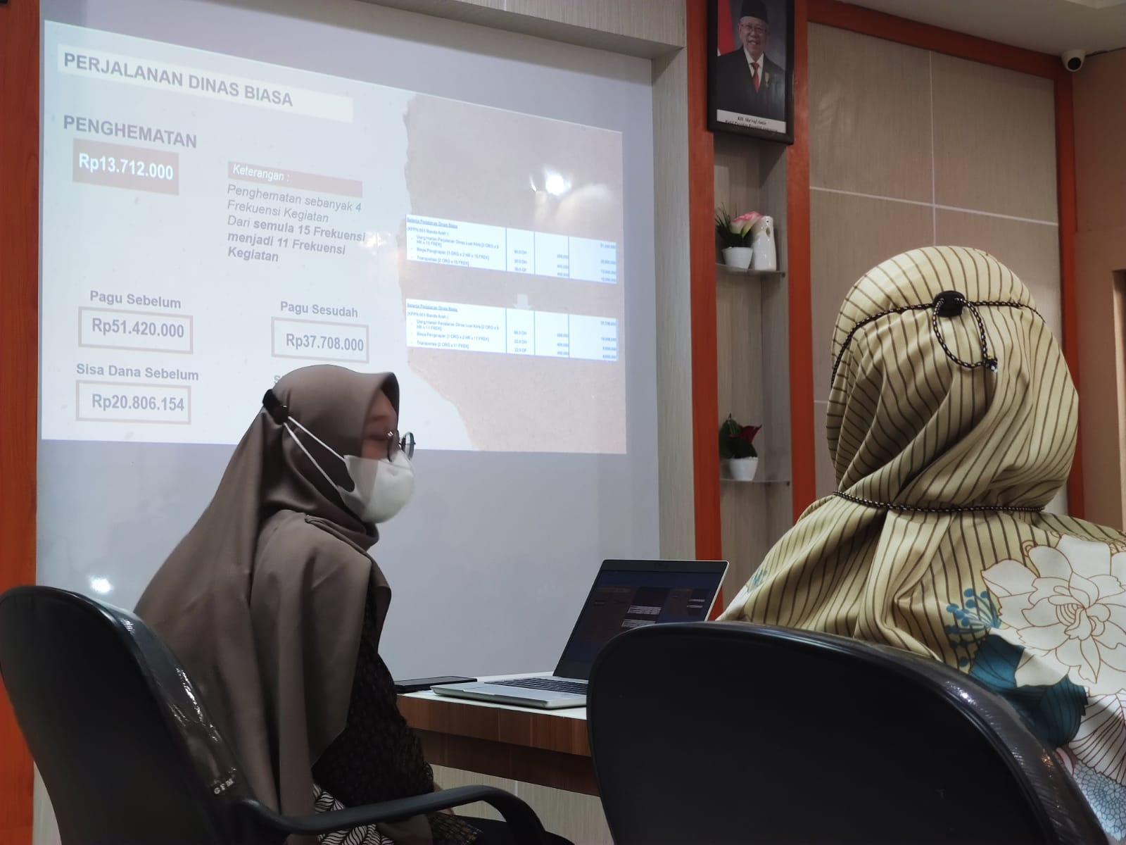 KPKNL Banda Aceh Laksanakan Refocusing & Realokasi Anggaran Tahap IV TA 2021: Dukungan Nyata Percepatan PEN