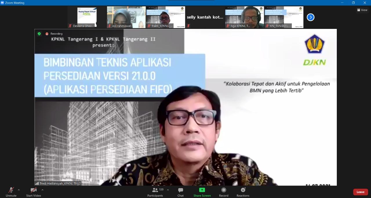 Kolaborasi Perdana KPKNL Tangerang II dan KPKNL Tangerang I, Adakan Bimbingan Teknis Aplikasi Persediaan Versi Terbaru