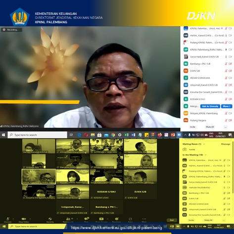 Koordinasi Penyerahan Pengurusan Piutang SSC (Sriwijaya Sport Centre)