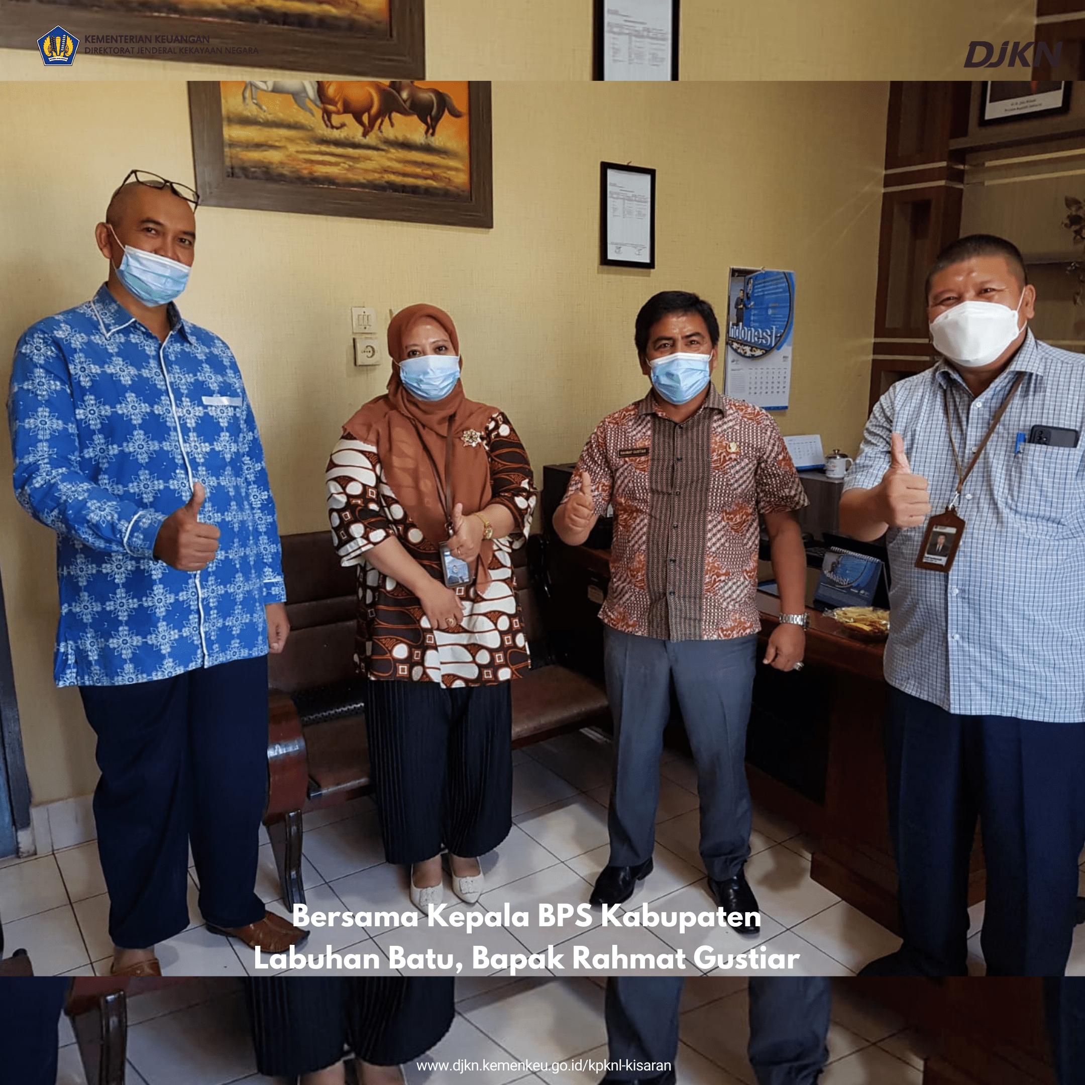 Edukasi Pengendalian Gratifikasi kepada Satker di Wilayah Kerja KPKNL Kisaran