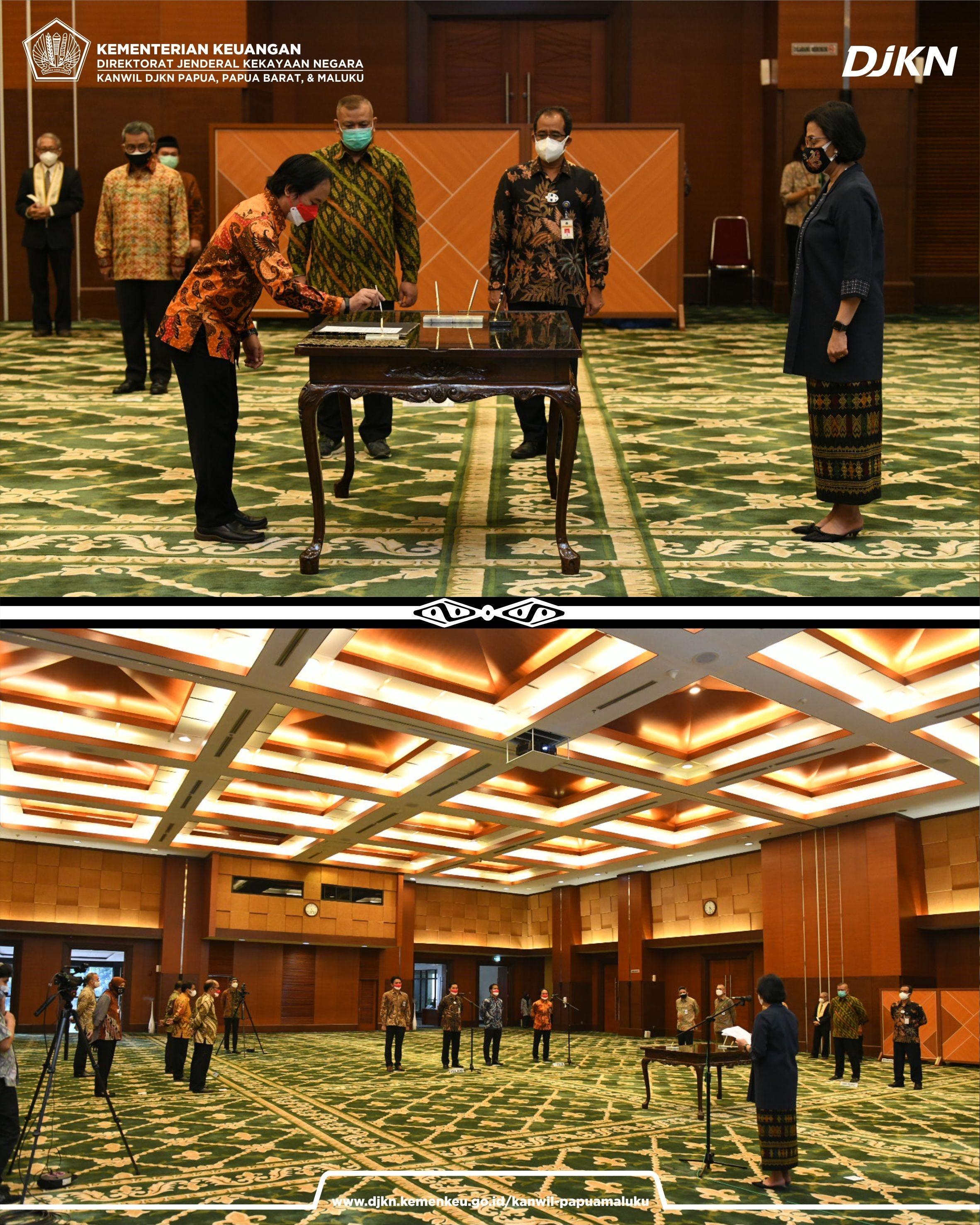 Pelantikan Pejabat Pimpinan Tinggi Kementerian Keuangan