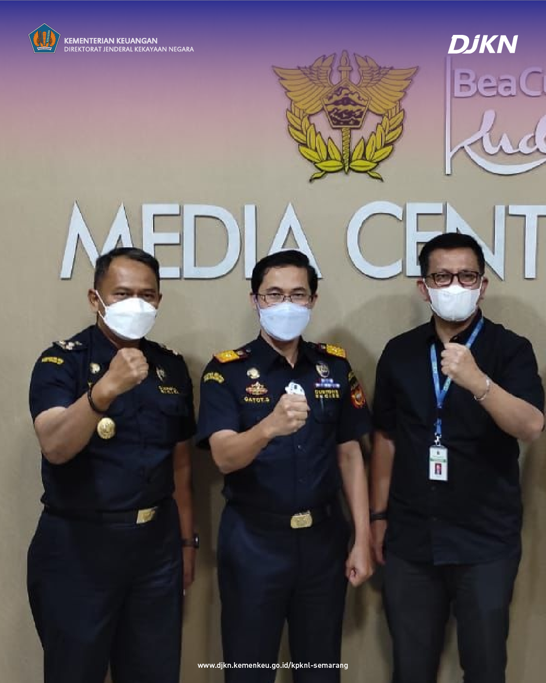 Tuntaskan BKPN, KPKNL Semarang Lakukan Koordinasi Dengan KPPBC Kudus