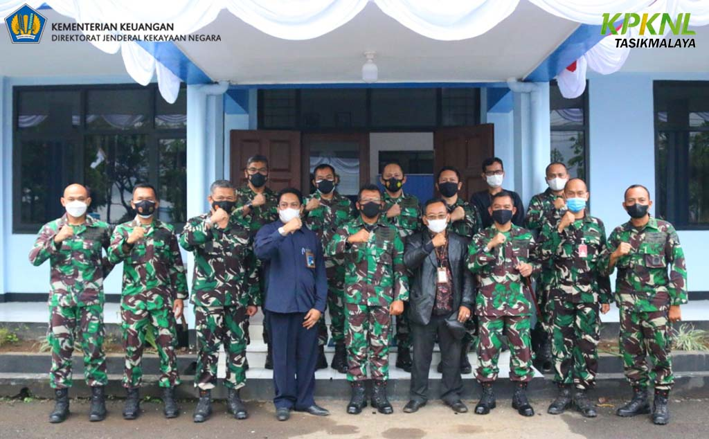 KPKNL Tasikmalaya hadir sebagai narasumber Pembahasan Pengelolaan aset TNI AU eks PT Dahana