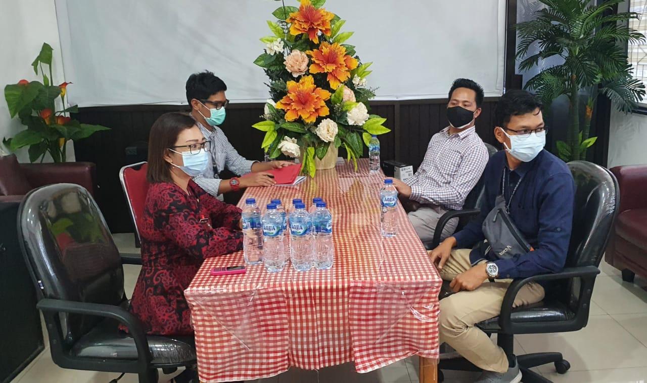 KPKNL Manado Lakukan Penilaian BMD Berupa Hasil Bongkaran Bangunan Puskesmas dan Aula Balai Kota Kabupaten Minahasa Selatan