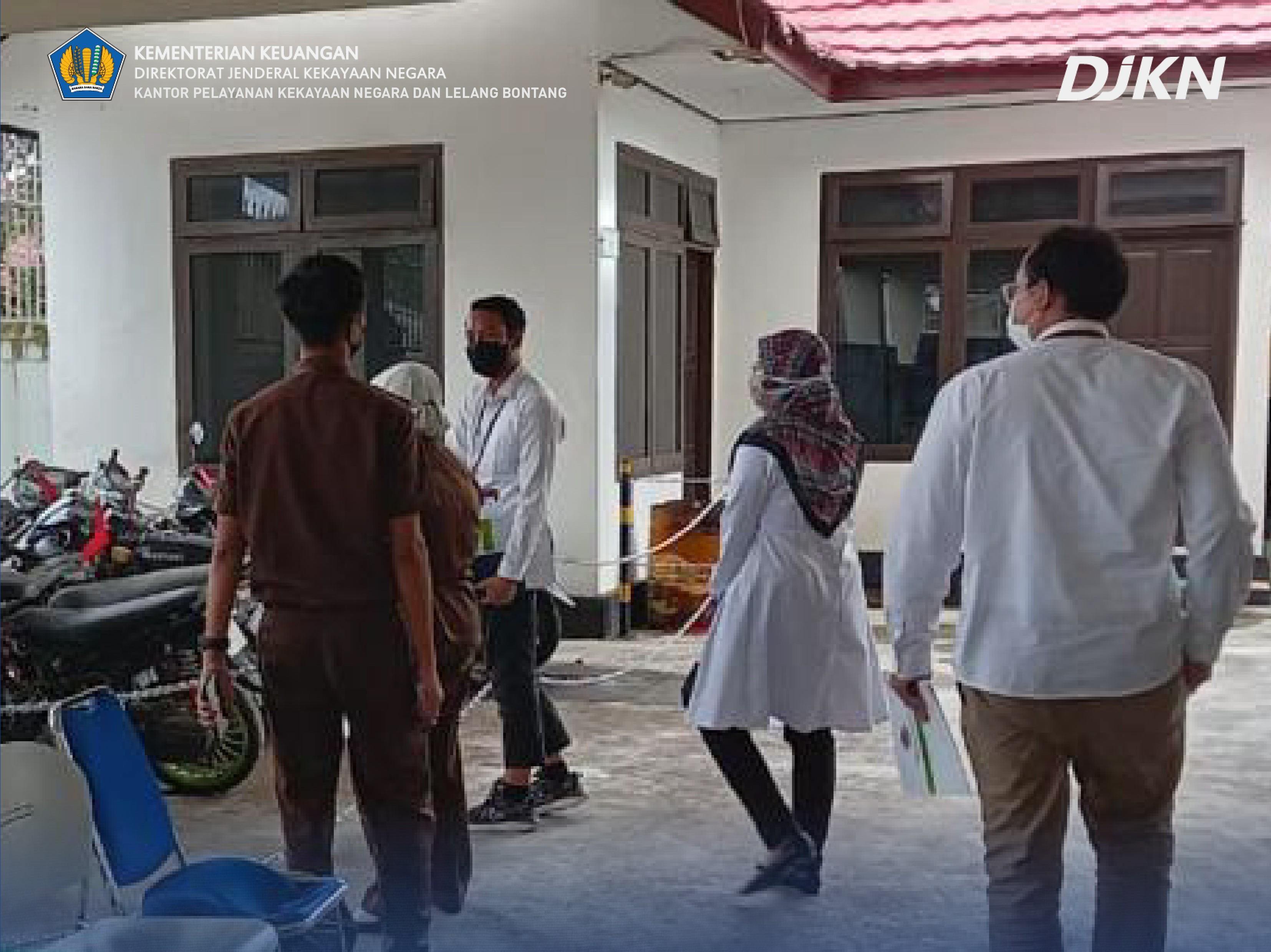 Gali Potensi PNBP, Seksi Teknis KPKNL Bontang Kunjungi Satker di Bontang dan Kutai Timur