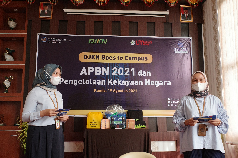 Berikan Edukasi APBN ke Mahasiswa, KPKNL Bukittinggi Selenggarakan DJKN Goes To Campus