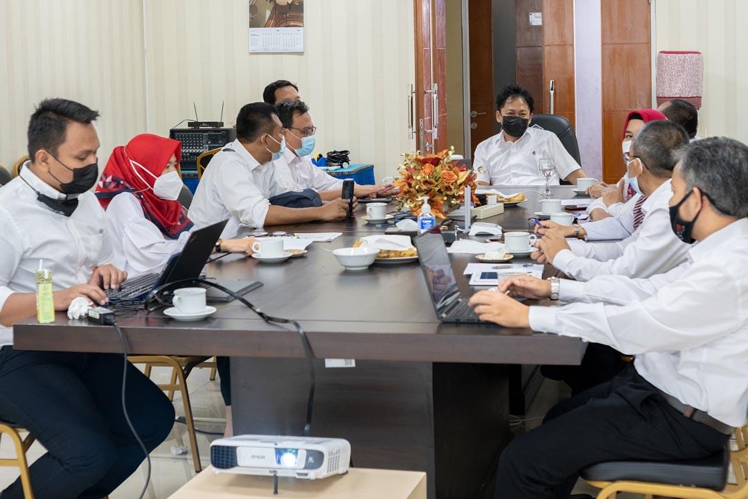 Rapat Monitoring dan Evaluasi Guna Optimalisasi Capaian IKU PKPA 2021