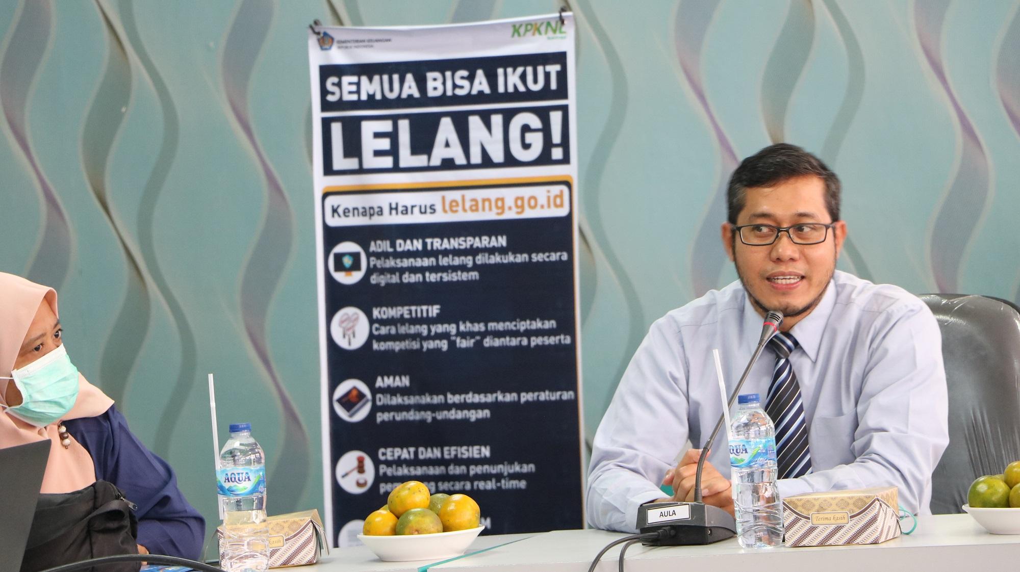 Sosialisasi Portal Lelang Indonesia di Lingkungan Pemerintah Daerah Kabupaten Pasaman Barat