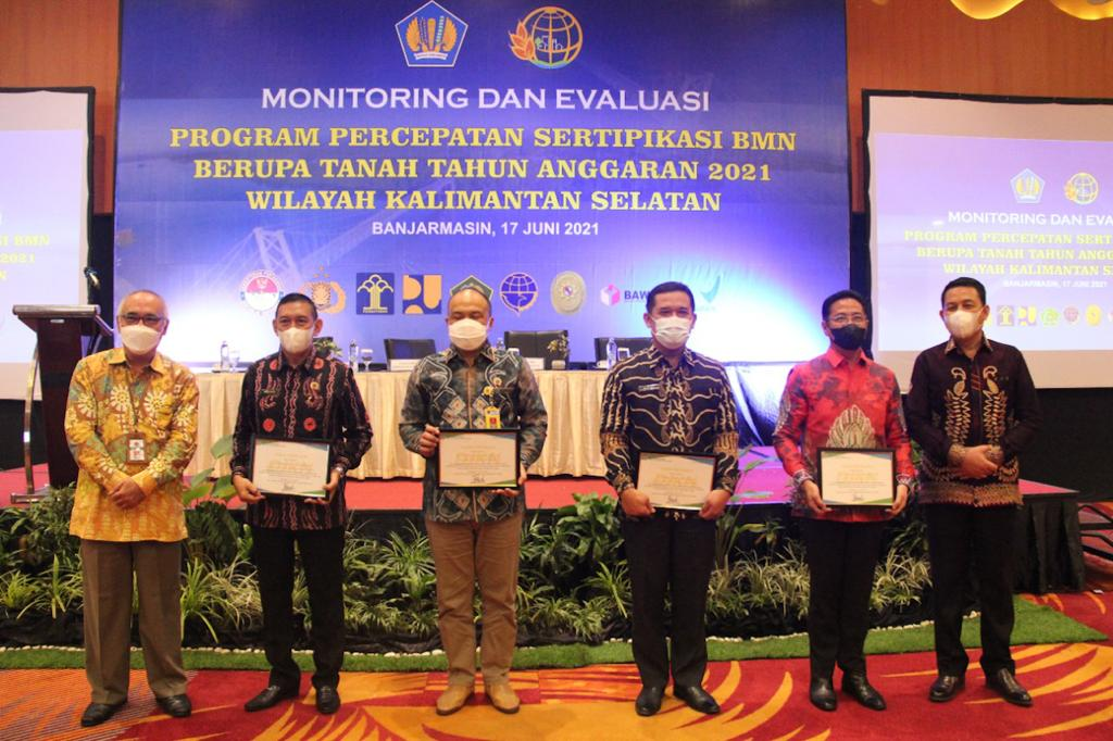 Kanwil DJKN Kalselteng Gelar Monev Program Sertipikasi BMN Berupa Tanah di Wilayah Kalimantan Selatan