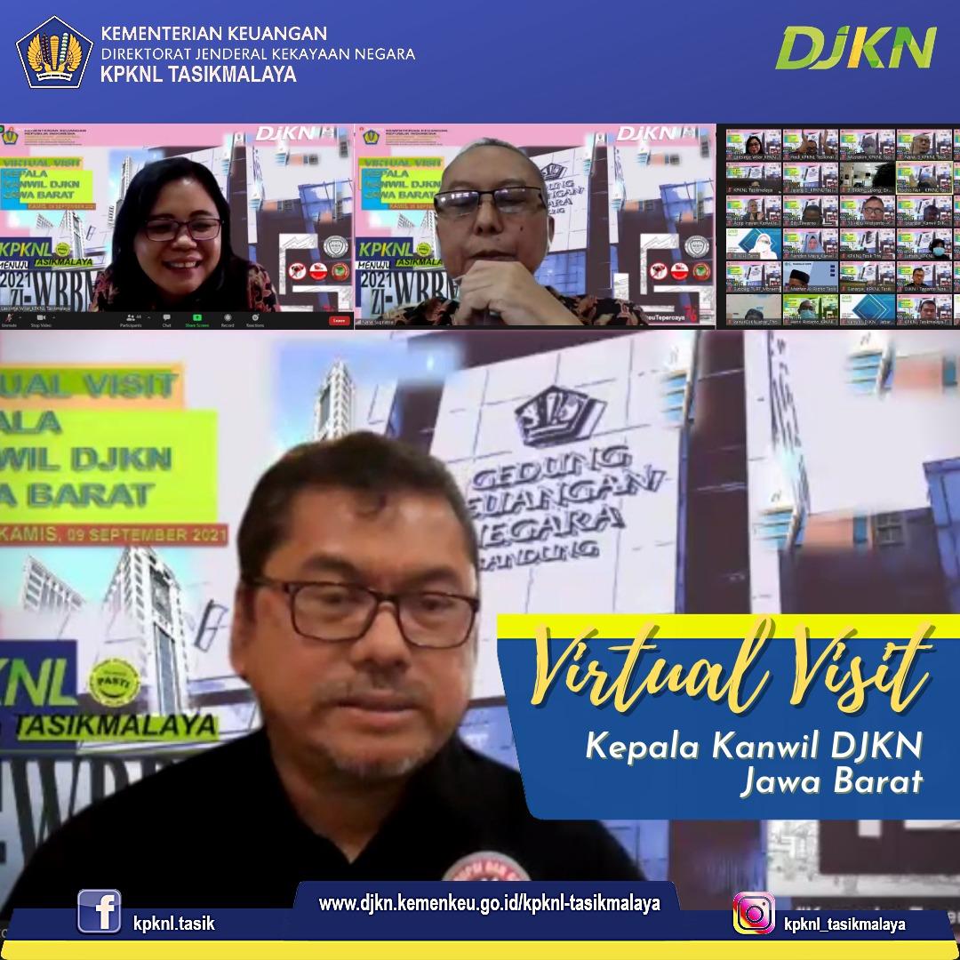 Kunjungan Kerja Kepala Kanwil DJKN Jawa Barat Ke KPKNL Tasikmalaya