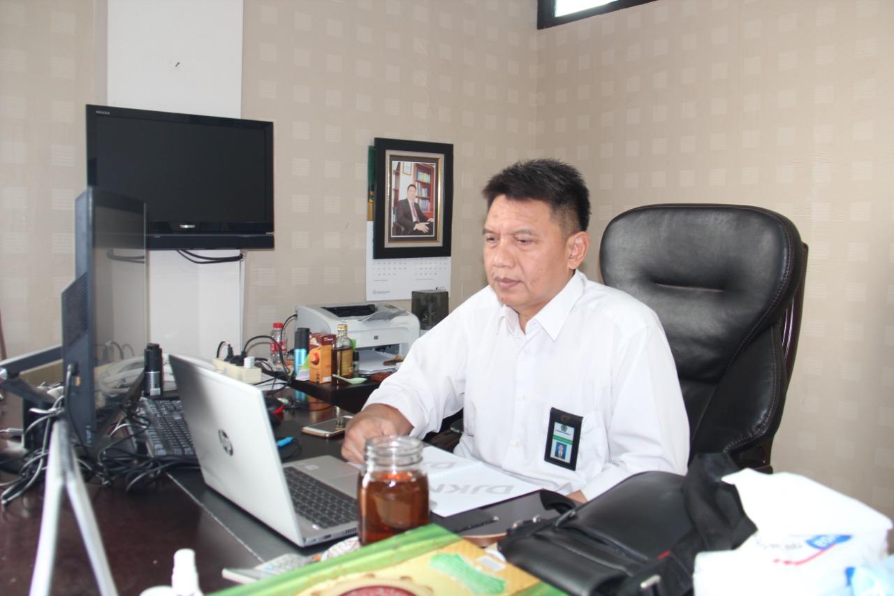 Menyambut Kemenkeu Government 4.0, KPKNL Tegal Gelar FGD Administrator Triwulan II Tahun 2021