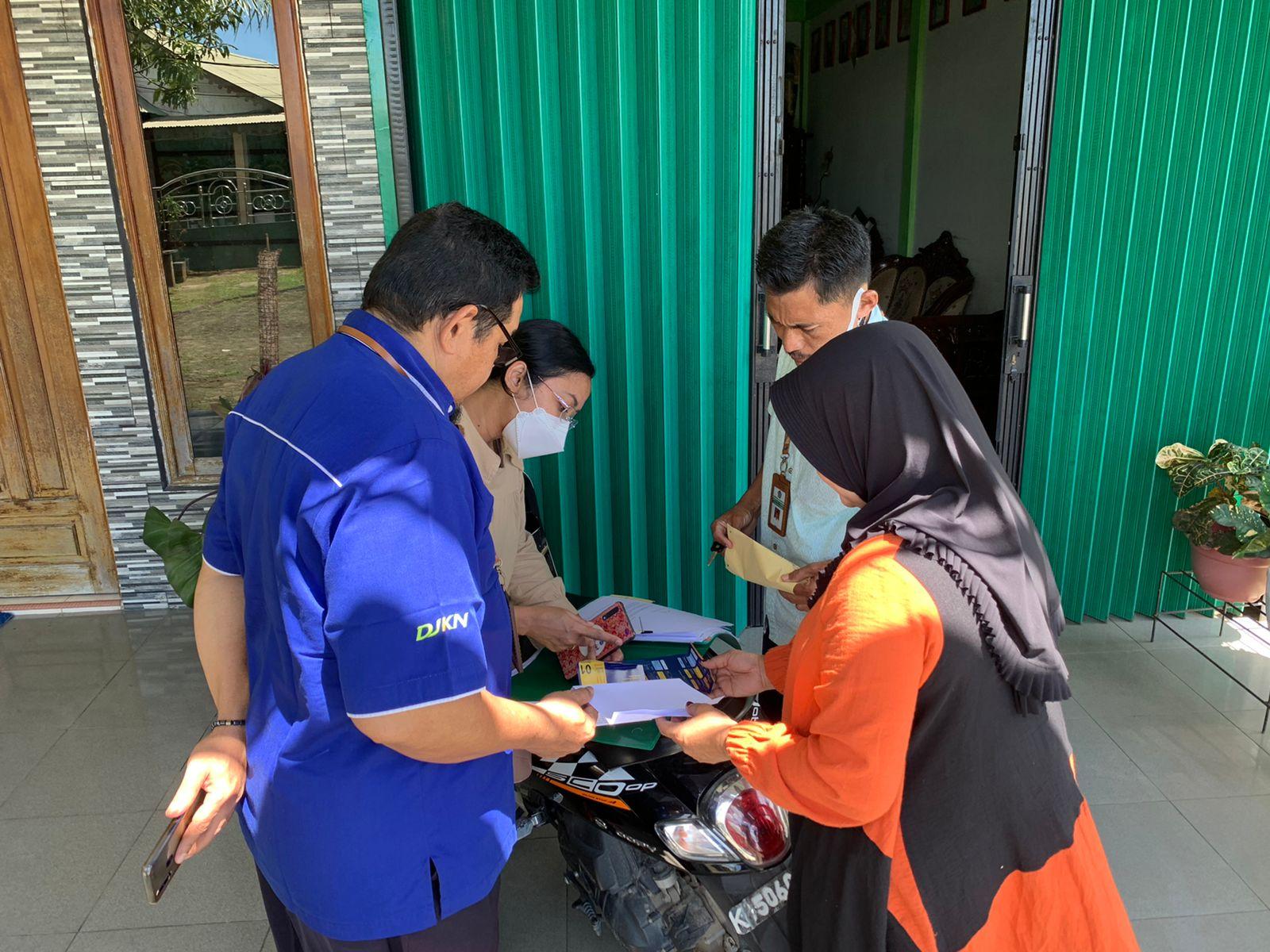 Sukseskan Program Keringanan Utang, KPKNL Singkawang Telusuri Keberadaan Debitur