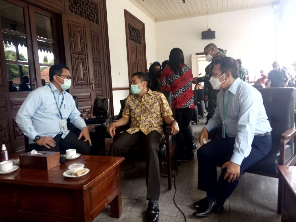 Berkunjung Ke Pemkot Salatiga, Kanwil DJKN Jateng DIY Bersama KPKNL Semarang Kenalkan Tugas dan Fungsi DJKN