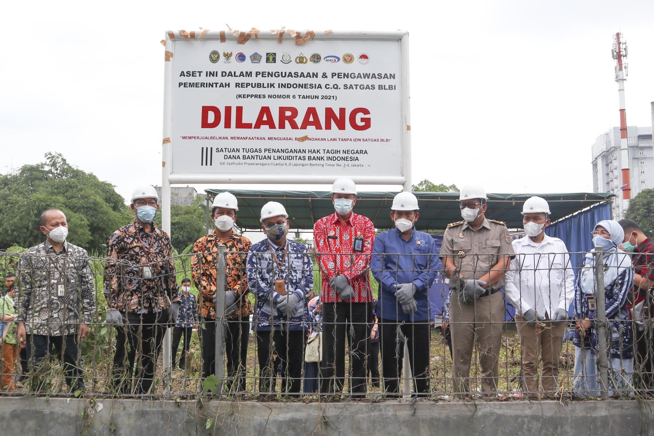 Penguasaan Aset Tanah dan Bangunan Eks Bantuan Likuiditas Bank Indonesia di Teuku Cik Ditiro Medan