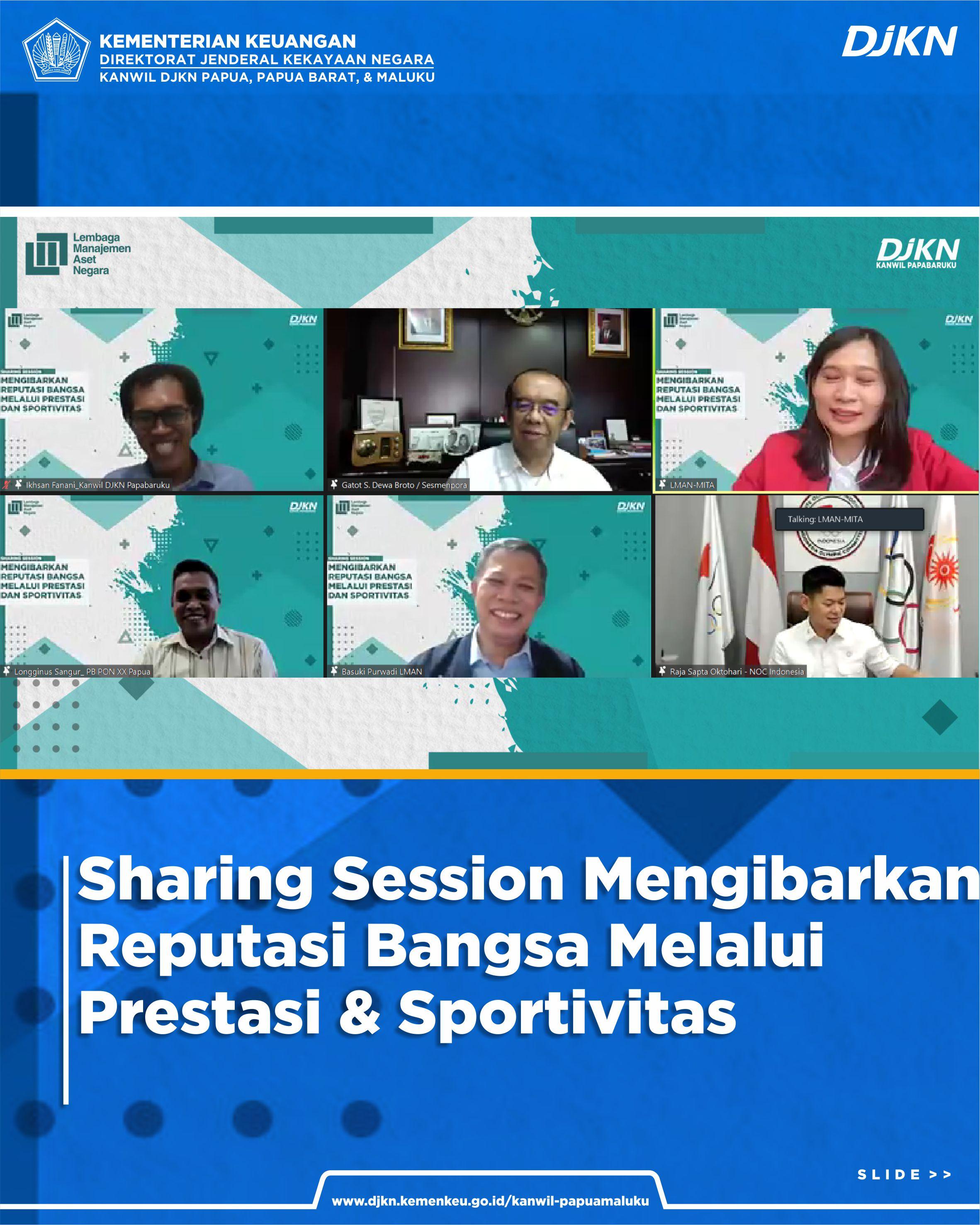 Sharing Session: Mengibarkan Reputasi Bangsa Melalui Prestasi dan Sportivitas