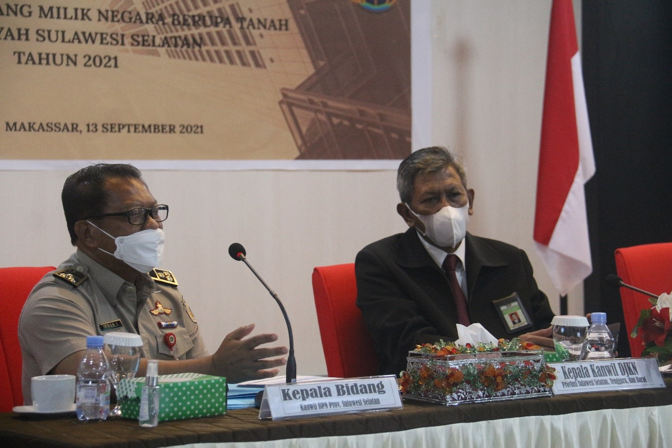 Komunikasi dan Koordinasi Kanwil DJKN Sulseltrabar-ATR/BPN Provinsi Sulawesi Selatan, Sukseskan Sertipikasi BMN Sulsel 2021