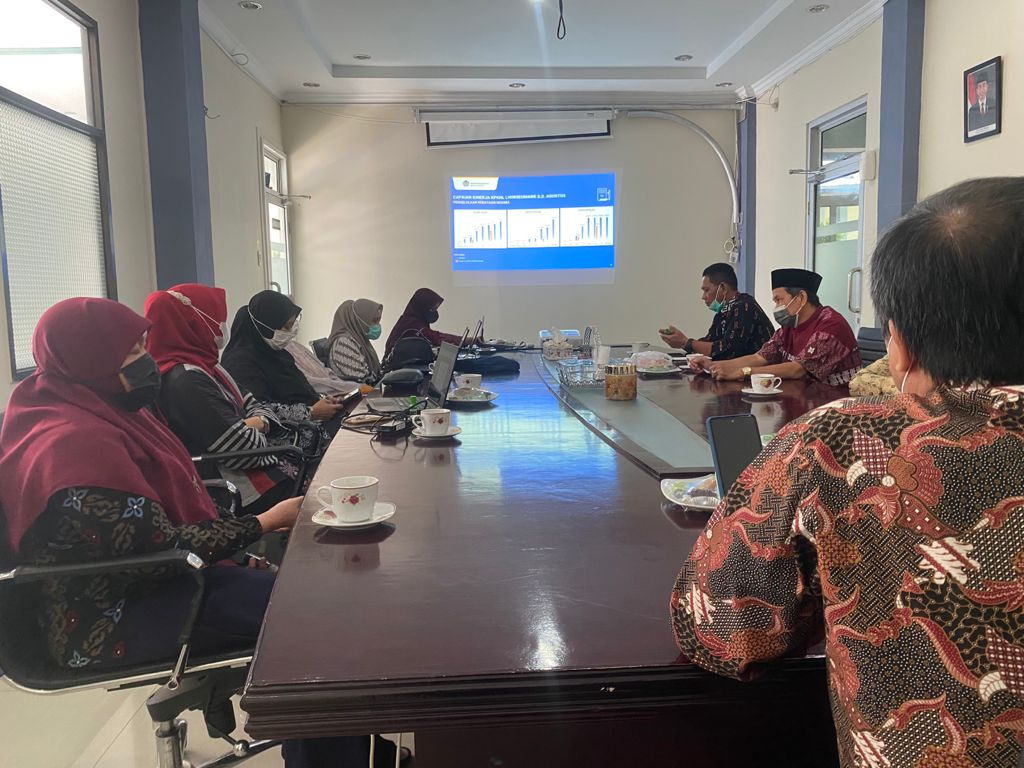 Kunjungan Kanwil DJKN Aceh Sebagai Wujud Bimbingan Teknis dan Pembinaan Pada KPKNL Lhokseumawe